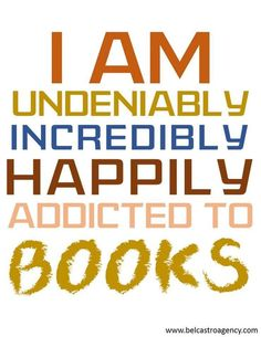 Hi, my name is Cathy and I'm a Bookaholic ...