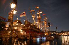 Night Mediterranean Harbor - Tokyo Disney Sea