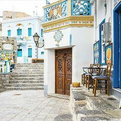 Karpathos ...Amazing shot of the lovely #olympos, on #karpathos island! By @minaslyris. Congratulations