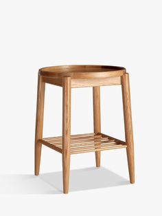 Buy ercol for John Lewis Shalstone Bedside Table from our Bedside Cabinets & Tables range at John Lewis & Partners. Bedside Stool, Bedside Cabinet, Bedside Tables, White Oak Barrels, Slatted Shelves, Lacquer Furniture, Modern Furniture, Furniture Design, Small Stool