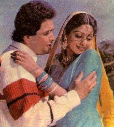 Sridevi Jim with Rishi kapoor Rishi Kapoor, Bollywood Actress, Mona Lisa, Actresses, Couple Photos, Artwork, Painting, Female Actresses, Couple Shots