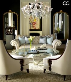 Here is a look at some of our favorite pieces from the luxury furniture Mademoiselle Collection by Christopher Guy. 371 W Ontario, Chicago IL 60654. 312.988.9600.