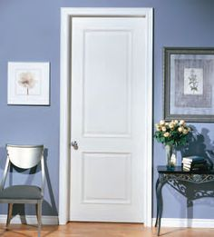 Or two panel square door?