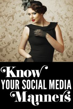 Do you need to brush up on your social media manners