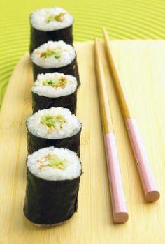 Cucumber sushi rolls - Meike Bergmann/Photodisc/Getty Images