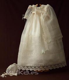 Foto: Colección Bautizo: Faldon de cristianar. Vestido de ...