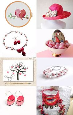 Sweet pink by Lia , Ada on Etsy--Pinned with TreasuryPin.com