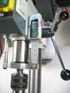 "Cheap Drill Press DRO ""Z"""