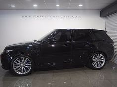 Land Rover Range Rover Sport 5.0 V8 SVR 4WD 5dr (start/stop)