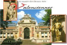 Le musée des Beaux Arts, Valenciennes. Museum of fine arts.