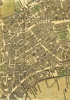 Bowles's Reduced New Pocket Plan Of The Cities Of London And Westminster With The Borough Of Southwark, Exhibiting The New Buildings To The Year 1775.