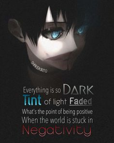 Sad Anime Quotes, Manga Quotes, Favorite Quotes, Best Quotes, Dark Thoughts, Dark Quotes, Depression Quotes, True Words, True Quotes