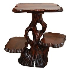 Japanese Root End Table | 1stdibs.com