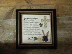 Wild Irish - Pressed flowers and verse