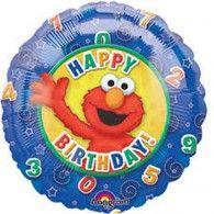 Elmo Happy Birthday Stars and Swirls Balloon Mickey Mouse Balloons, Disney Balloons, Helium Balloons, Foil Balloons, Latex Balloons, Birthday Star, 2nd Birthday Parties, Happy Birthday, Wholesale Party Supplies