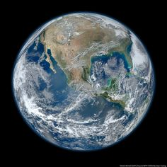 Blue Marble 2012: NASA Releases High Definition Image Of Earth (PHOTO)