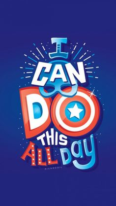 Captain America I Can do this all Day iPhone Wallpaper