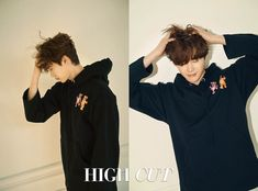 Lee Jong Suk was on the cover of both High Cut Vol. 213 and the February issue of InStyle, check it out! Lee Jong Suk, Jung Suk, Lee Jung, Asian Actors, Korean Actors, Young Male Model, Han Hyo Joo, Star Magazine, Man Lee