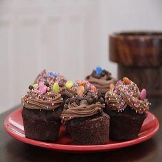 Chocolate & Betroot Muffins (2)98458