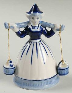 Blue Delft Milkmaid...gave mine to my daughter...almost regret that, lol