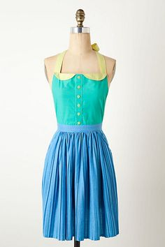 Pleated Bobbi Apron from Anthropologie