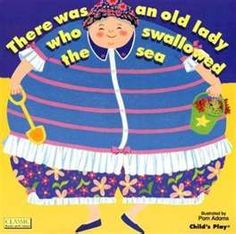 Buy There Was An Old Lady Who Swallowed The Sea Book by Pam Adams ...
