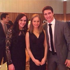 oh my gosh it's Yulia with Tessa and Scott! {no idea which gala this is}