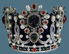 Empress of Iran's Crown