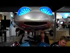 NRF 2012 - Wipro Booth Robot