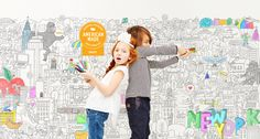 Pirasta is a line of really big coloring posters and coloring sheets, offering kids and adults endless hours of coloring fun.