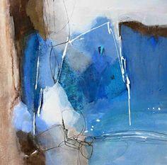 abstrakte Malerei Acryl-Mischtechnik