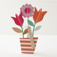 Pop-Up Plants Mother's Day Card