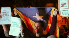 Eight sacked Catalan ministers are remanded in custody over the region's push for independence.