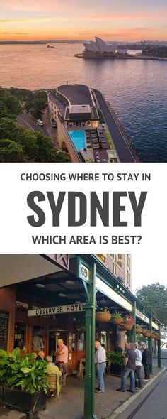 Are you planning a holiday to Sydney Australia? Deciding where to stay can be the hardest part of planning a vacation. This article describes the various areas of Sydney that are good for travellers and the pros and cons of each. If you are planning a visit it's a good starting point.