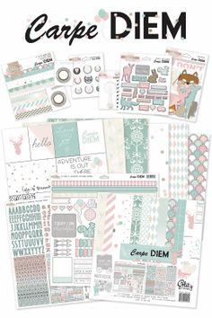 Glitz Designs - Carpe Diem // love the little animal masks!