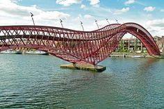 Ponte Python, Amsterdam, Paesi Bassi