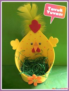 The workshop suggestion box : DIY Easter Easter Projects, Easter Crafts For Kids, Easter Activities, Preschool Crafts, Spring Crafts, Holiday Crafts, Diy And Crafts, Paper Crafts, Flower Crafts
