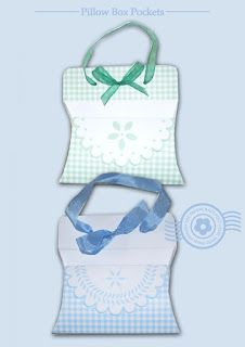 The Papercraft Post: Pillow Box Pockets http://thepapercraftpost.blogspot.co.uk/2015/07/pillow-box-pockets.html