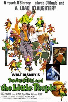 "CAST: Albert Sharpe, Janet Munro, Sean Connery, Estelle Winwood, Kieron Moore, Jimmy O'Dea; DIRECTED BY: Robert Stevenson;; PRODUCER: Walt Disney Studios; Features: - 11"" x 17"" - Packaged with care -"