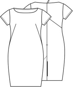 knip maart 2015 Make Your Own Clothes, Diy Clothes, Named Clothing, Batwing Dress, Easy Sewing Patterns, Miss Dress, Dress Tutorials, Drawing Clothes, Couture