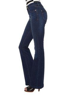 Karen Millen Autumn Kickflare flared jeans • de Bijenkorf