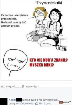 Funny Sms, Wtf Funny, Great Memes, Love Memes, Polish Memes, Funny Motivation, The Sims4, Just Smile, Laughter