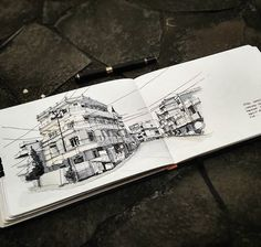 Old Hotel in teluk betung, Indonesia #watercolorsketch #sketchalcoholic #sketsagram #sketch_daily #sketchbook #devianart #drawing #drawingsketch #archsketch #arqsketch #architectureporn #arquitetapage #artwork #illustration #archisketcher