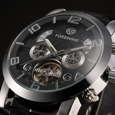 26.99$  Buy here  - FORSINING Watch Men Casual Watches Top Brand Luxury Watch montre homme Automatic Mechanical Clock Classic Business Wristwatch