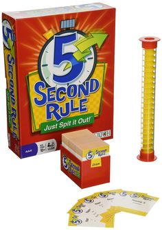 Blotus Board Game 5 Second Rule - Just Spit it Out Five Second Rule English Version with Rules Funny Children Toy indoor games Games To Play With Kids, Board Games For Kids, Games For Girls, Kids Board, Kids Fun, Best Family Board Games, Family Fun Games, Articulation Games, Spit It Out