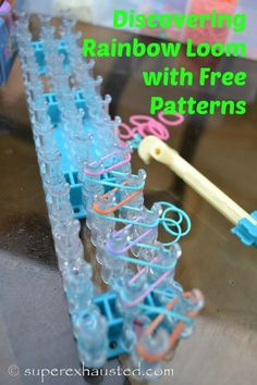 Crafts: How to use a Rainbow Loom #rainbowloom #crafts #kids