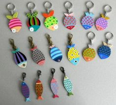 Zips and Things Plastic Fou, Shrink Plastic, Diy And Crafts, Crafts For Kids, Arts And Crafts, Paper Crafts, Fabric Fish, Sewing Projects, Projects To Try