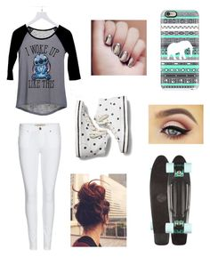 """""""Untitled #16"""" by lilliana-apperson on Polyvore featuring dELiA*s, Burberry, Casetify and Keds"""