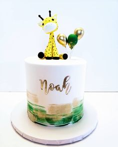 Absolutely loved making this Wild One themed cake and cupcakes for darling little Noah and his amazing mom. Safari Birthday Cakes, Jungle Theme Cakes, Baby First Birthday Cake, Boys First Birthday Party Ideas, Jungle Theme Birthday, Safari Cakes, Wild One Birthday Party, Boy Birthday Parties, Safari Theme