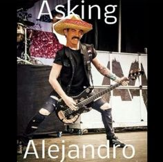 Asking Alexandria. LOL I have this picture on my laptop. XD >_